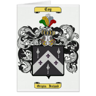coy card