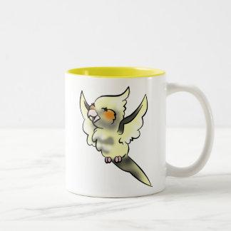 Coy Cockatiel Coffee Cup