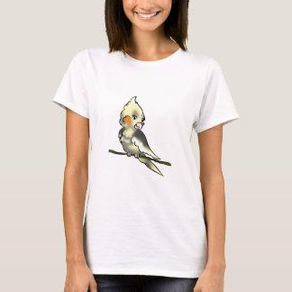 Coy Cockatiel Ladies Babydoll T-Shirt