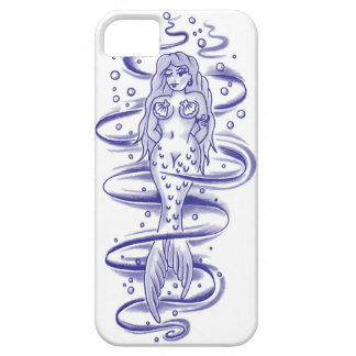 Coy little mermaid girl iPhone 5 covers