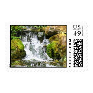 Coy Pond Waterfall Postage