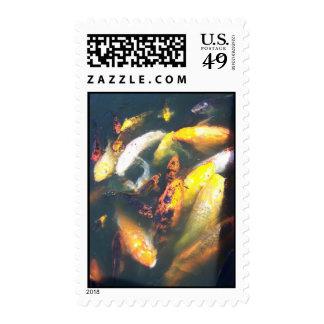 Coy Postage Stamp