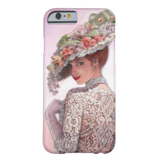 Coy Victorian Lady Art iPhone 6 Case
