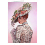 "Coy Victorian Lady ""Betty Lu"" Cards"