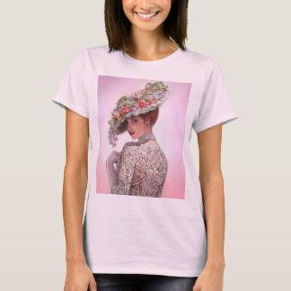 """Coy Victorian Lady """"Betty Lu"""" T-Shirt"""