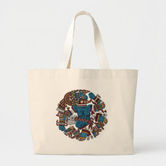 Coyolxauhqui Canvas Bags