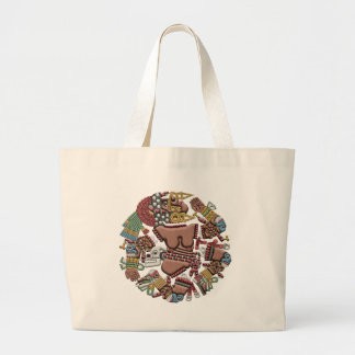 Coyolxauhqui Large Tote Bag