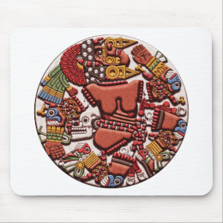 Coyolxauhqui Mousepads