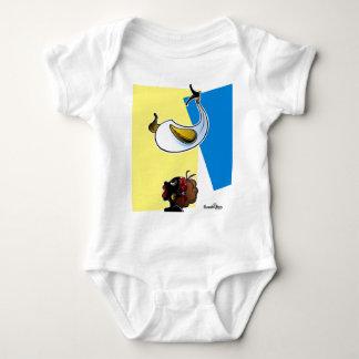 COYONGO Y NEGRITA PULOY BABY BODYSUIT