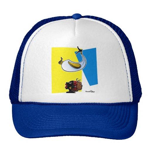 COYONGO Y NEGRITA PULOY TRUCKER HAT