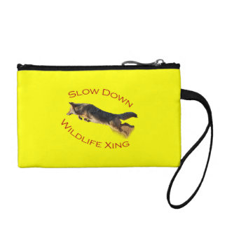 coyote action coin purse