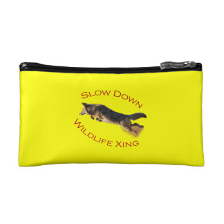 coyote action makeup bag