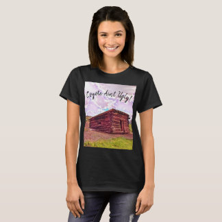 Coyote Ain't Ugly Tshirt by Jacqueline Kruse