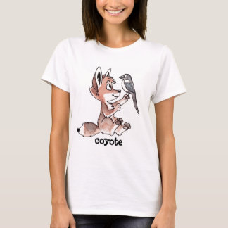 Coyote and Magpie Ladies Fitted Shirt
