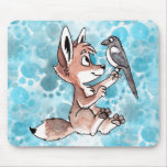 Coyote and Magpie Mousepad