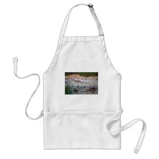Coyote at dusk adult apron