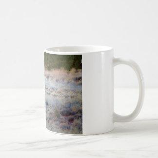 Coyote at dusk classic white coffee mug