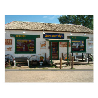 Coyote Bluff Cafe in Amarillo, Texas | Postcard