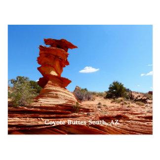 Coyote Buttes South, AZ Arizona Postcard