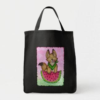 Coyote con el bolso de Waterelon Bolsa