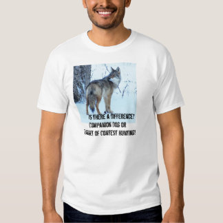 Coyote Contest Hunting Should be Banned T Shirt
