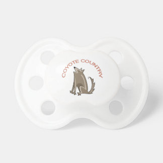 Coyote Country BooginHead Pacifier
