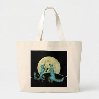 Coyote Crooners Large Tote Bag