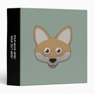 """Coyote de papel carpeta 1 1/2"""""""