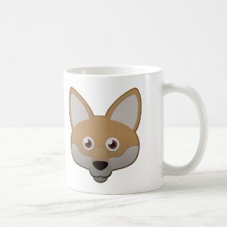 Coyote de papel taza de café