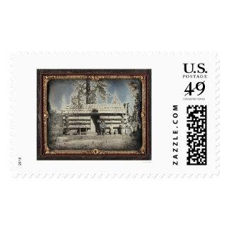 Coyote & Deer Creek Water Co. Office, Nevada City Stamp