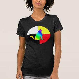 Coyote del arco iris camisas