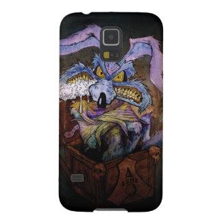 Coyote del Wile E un loco en la caja Fundas Para Galaxy S5