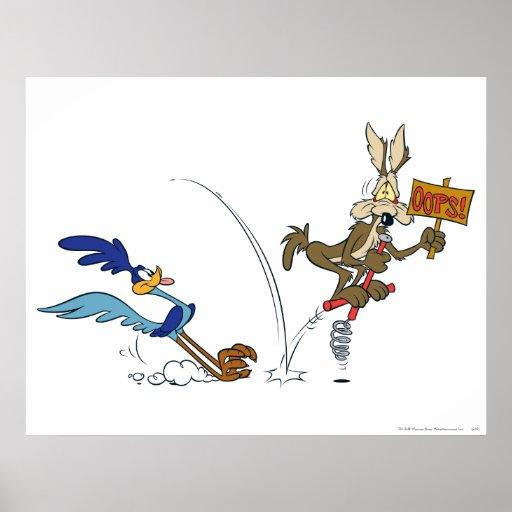 Coyote del Wile E y productos 7 de la cumbre del Póster