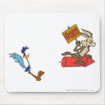 Coyote del Wile E y productos de la cumbre del Alfombrilla De Ratón