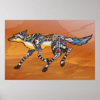 Coyote el Trickster Póster