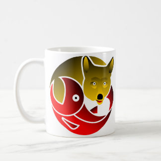Coyote Frees Salmon Coffee Mug