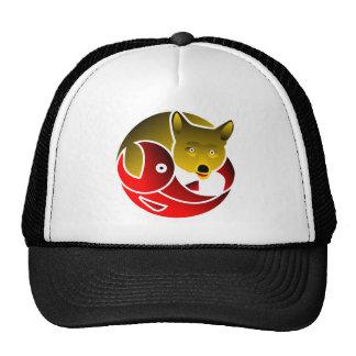 Coyote Frees Salmon Trucker Hat