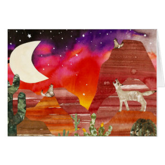 Coyote Howl Card