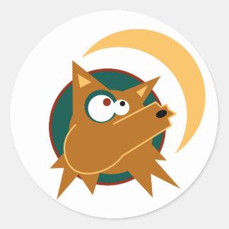 Coyote Howl Sticker