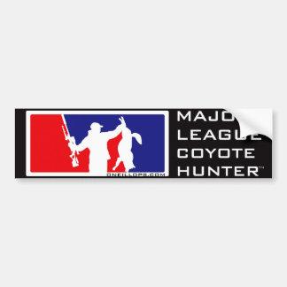 Coyote Hunter™ de la primera división Pegatina Para Auto