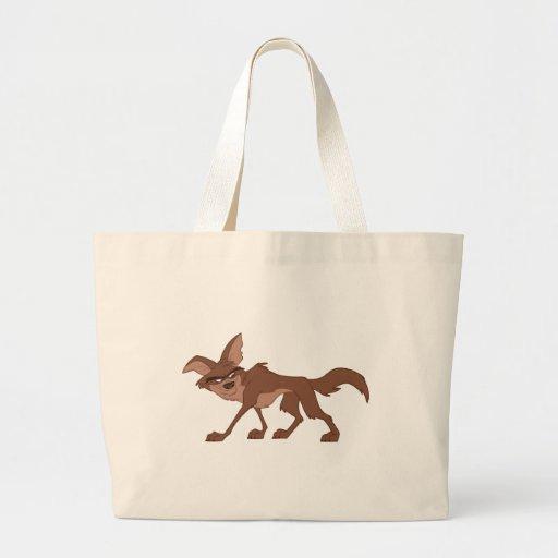 Coyote Jumbo Tote Bag
