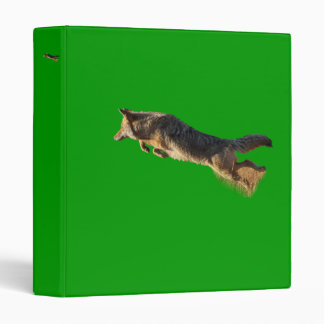 coyote jumping 3 ring binder