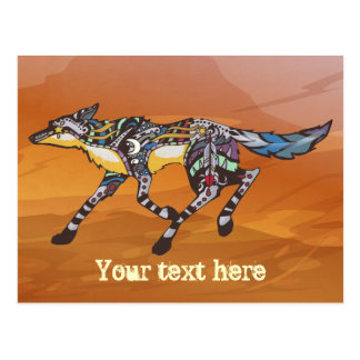 Coyote la postal del Trickster