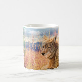 Coyote Landscapes North American Park Outdoor Dog Coffee Mug