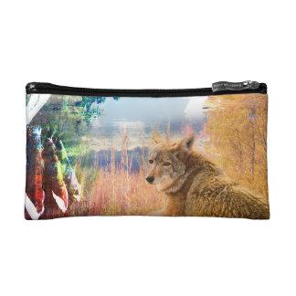 Coyote Landscapes North American Park Outdoor Dog Makeup Bag