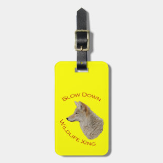 coyote travel bag tags