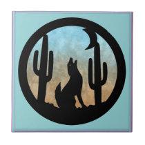 Coyote Moon Tile