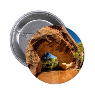 Coyote Natural Bridge - Coyote Gulch - Utah Pinback Button