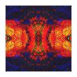 Coyote Peyote Mandala Canvas Print
