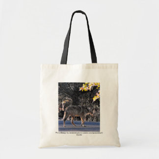 coyote, Photo/Design by Jeraisablue(www.zazzle.... Tote Bag